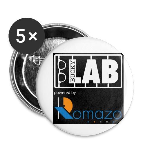 tshirt 2 romazo kopie - Buttons small 1''/25 mm (5-pack)