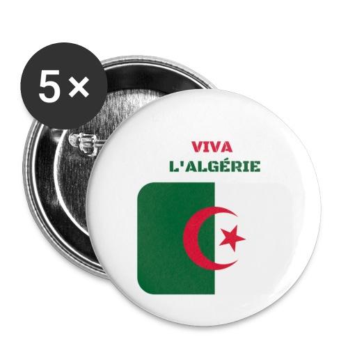 Viva l'Algerie - Buttons klein 25 mm (5er Pack)