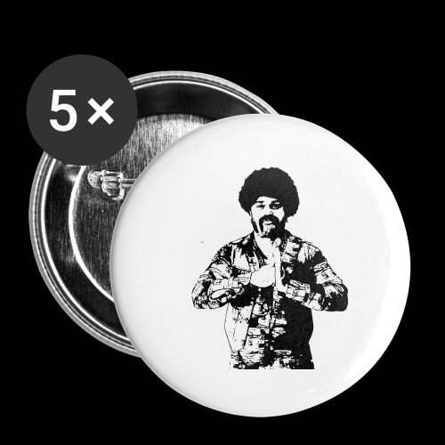 san diego brown - Buttons small 1''/25 mm (5-pack)