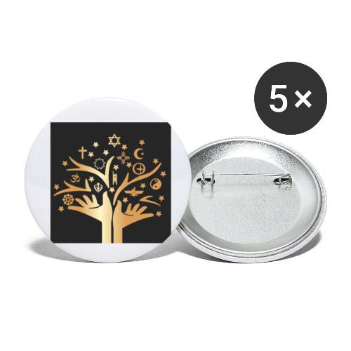 Religion for All - Buttons small 1''/25 mm (5-pack)