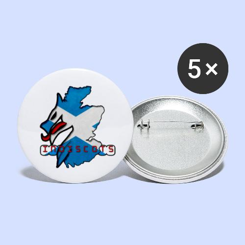IndiScots logo - Buttons small 1''/25 mm (5-pack)