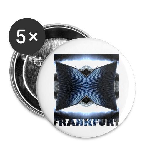 Frankfurt #3 - Buttons klein 25 mm (5er Pack)
