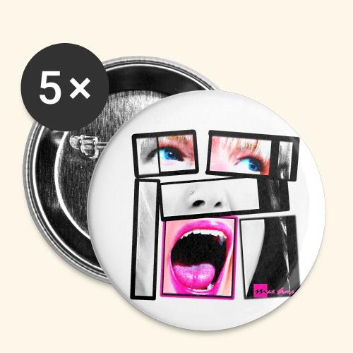 expo26b2 Unbreakable - Lot de 5 petits badges (25 mm)