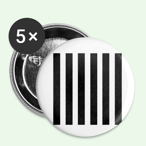 Stripes MJ Runway 2013 - Buttons klein 25 mm (5er Pack)