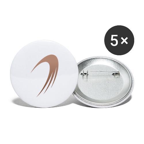 Icone du logo d'IslandGAME - Lot de 5 petits badges (25 mm)