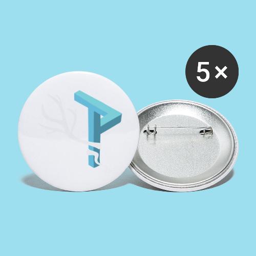 Winter Season - Buttons klein 25 mm (5er Pack)