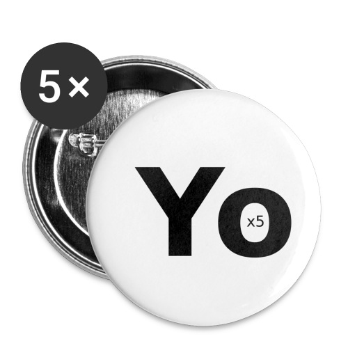 Yox5 - Buttons klein 25 mm (5-pack)