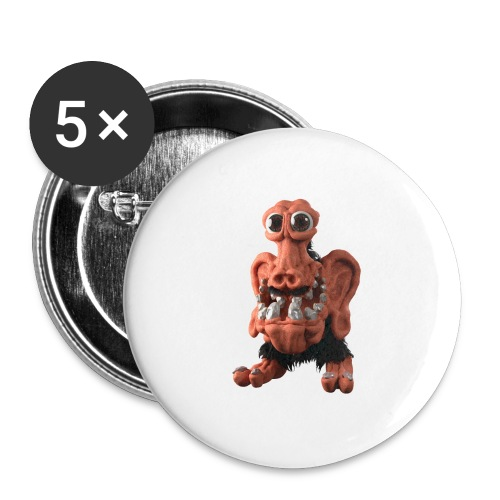 Very positive monster - Buttons small 1''/25 mm (5-pack)