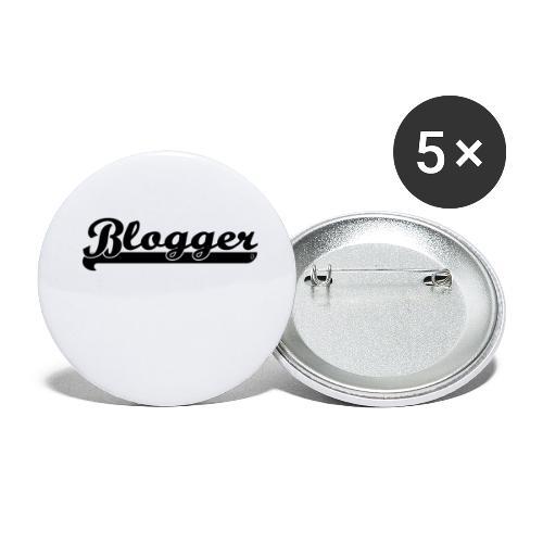 0184 Blogger | Blog | Buchblogger | Bookrebels - Buttons small 1''/25 mm (5-pack)