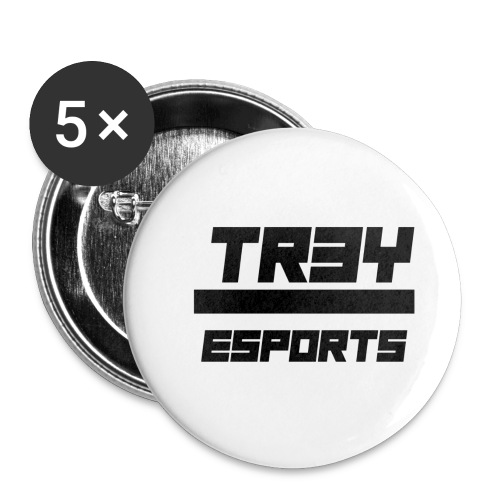 TR3Y ESPORTS - Buttons klein 25 mm (5-pack)