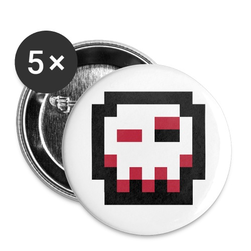 HZV Logo 1 by Tixlegeek - Buttons small 1''/25 mm (5-pack)