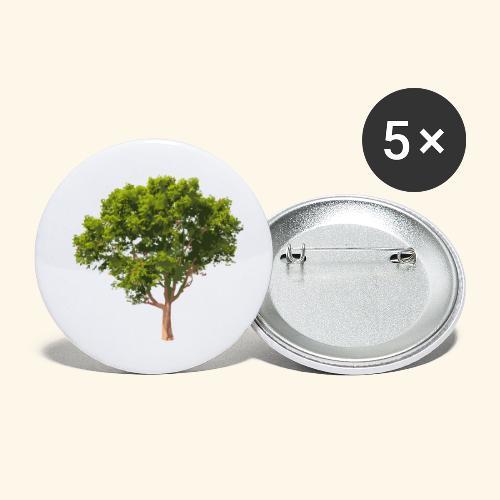 baum2 - Buttons klein 25 mm (5er Pack)