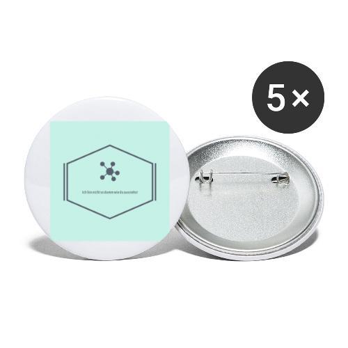 Ich bin nicht so dumm wie du aussiehst - Buttons klein 25 mm (5er Pack)