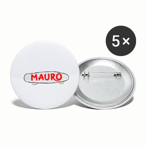 MAURO - Buttons klein 25 mm (5-pack)
