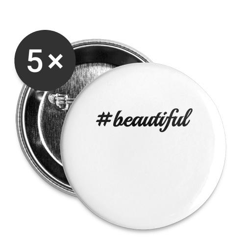 beautiful - Rintamerkit pienet 25 mm (5kpl pakkauksessa)
