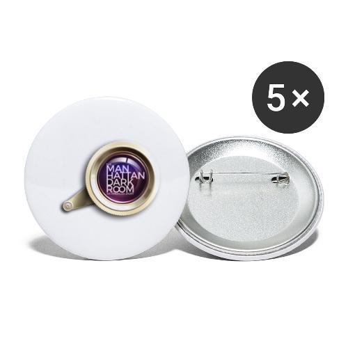 THE MANHATTAN DARKROOM OBJECTIF 2 - Lot de 5 petits badges (25 mm)