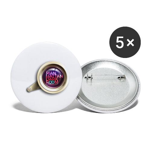 THE MANHATTAN DARKROOM OBJECTIF - Lot de 5 petits badges (25 mm)