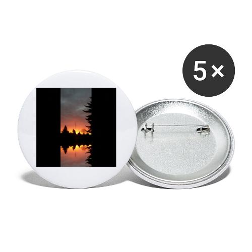 Morgenrotdrama Small - Buttons klein 25 mm (5er Pack)