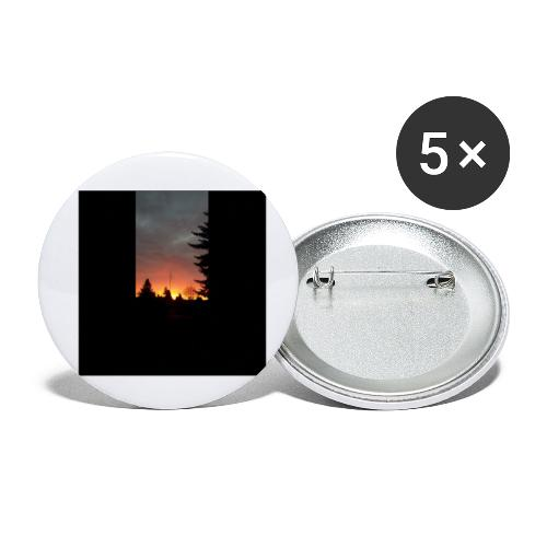 Morgenrotdrama Small Short - Buttons klein 25 mm (5er Pack)