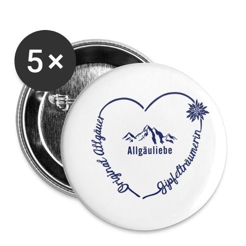 Gipfelträumerin - Buttons klein 25 mm (5er Pack)