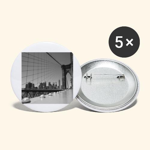 Brooklyn bridge - Confezione da 5 spille piccole (25 mm)