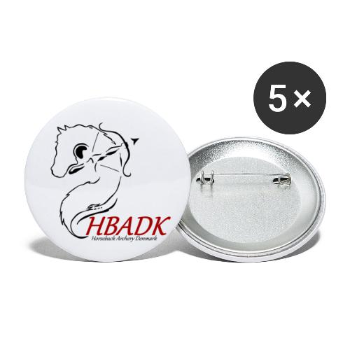 HBADK - Buttons/Badges lille, 25 mm (5-pack)