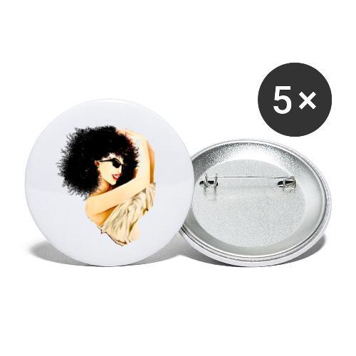 D:A:N:C:E - Buttons klein 25 mm (5er Pack)