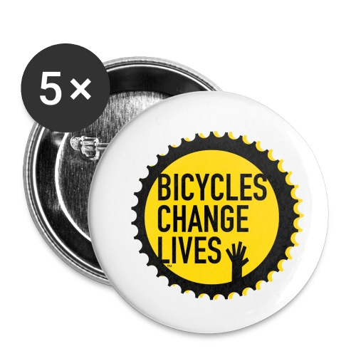 BCL Cog Button - Buttons small 1''/25 mm (5-pack)