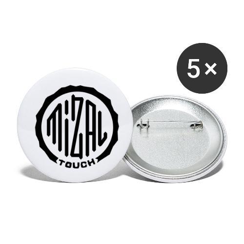 Mizal Touch Certified - Przypinka mała 25 mm (pakiet 5 szt.)