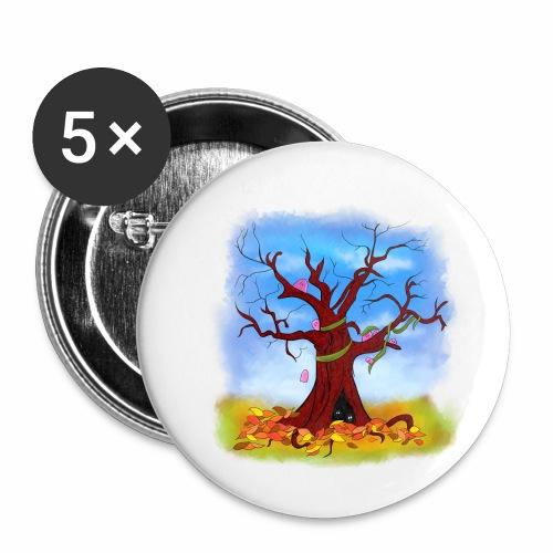 Tree spirits - Przypinka mała 25 mm (pakiet 5 szt.)