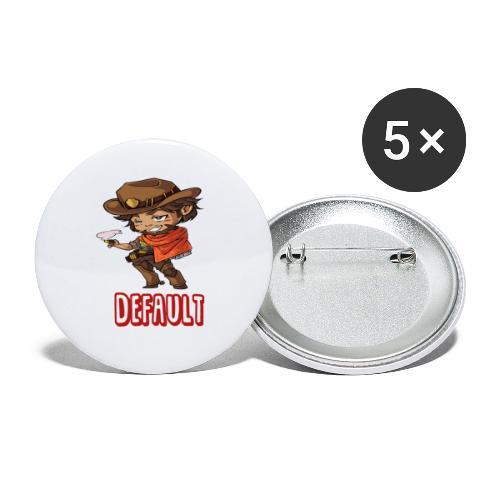 DeF Clan logo - Liten pin 25 mm (5-er pakke)