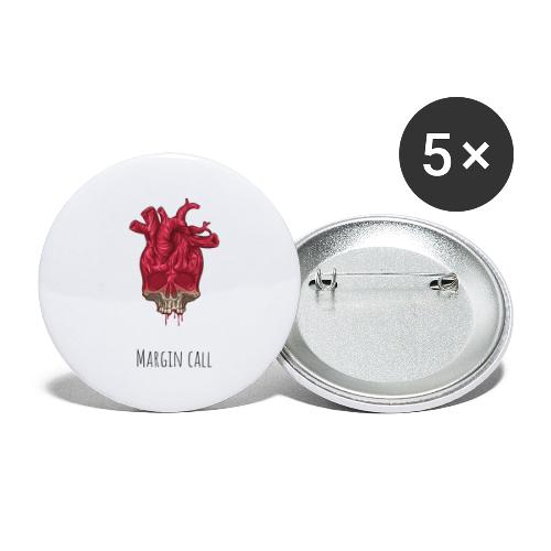 Margin call - Buttons small 1''/25 mm (5-pack)