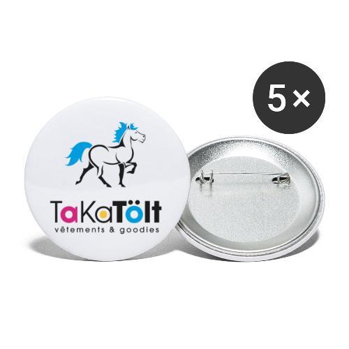 TaKaTölt - Lot de 5 petits badges (25 mm)