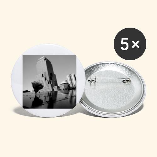 Rosa del ricordo - Confezione da 5 spille piccole (25 mm)