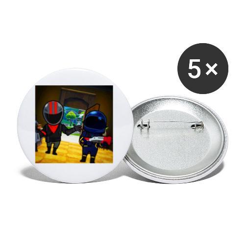 gg - Små knappar 25 mm (5-pack)