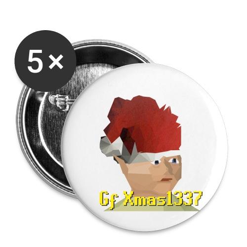 Gnomechild Christmas - Liten pin 25 mm (5-er pakke)