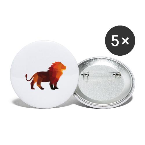 The Lion of Wall Street - Buttons small 1''/25 mm (5-pack)
