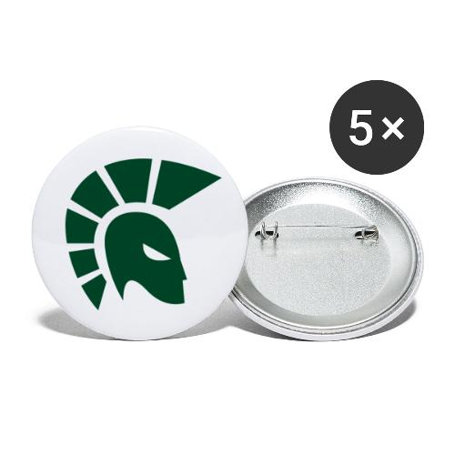 British Racing Green Centurion - Buttons small 1''/25 mm (5-pack)