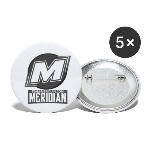 Meridian merch - Buttons klein 25 mm (5er Pack)