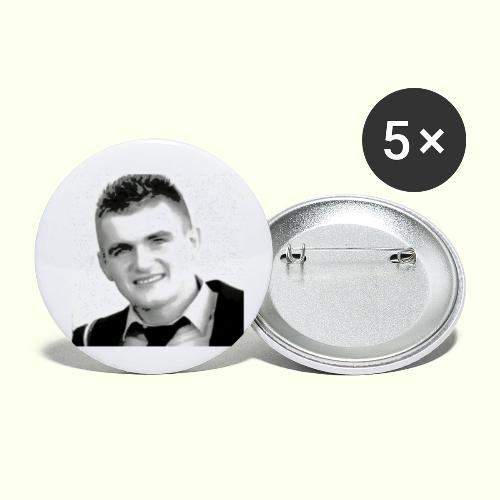 Pero - Buttons klein 25 mm (5er Pack)