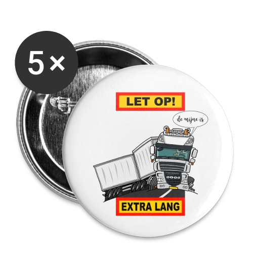 0793 extra lang - Buttons klein 25 mm (5-pack)