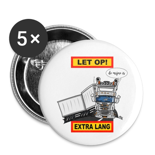 0323 extra lang - Buttons klein 25 mm (5-pack)