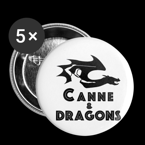 logoC D N B2 - Lot de 5 petits badges (25 mm)