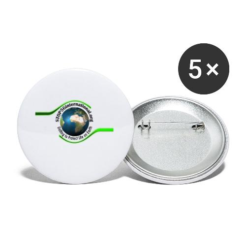STOP5G - Buttons small 1''/25 mm (5-pack)