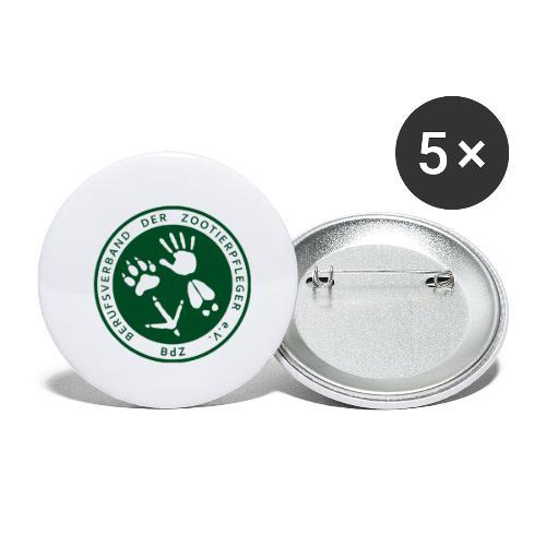 BdZ Logo - Buttons klein 25 mm (5er Pack)
