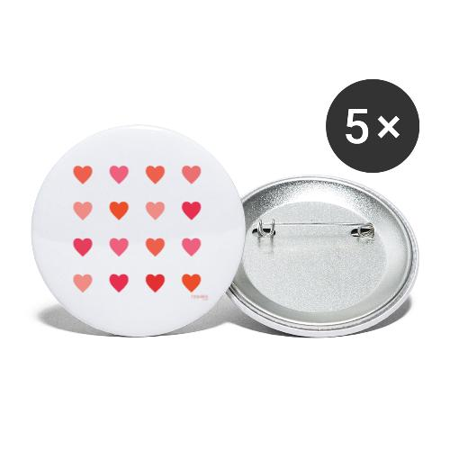 Love - Rintamerkit pienet 25 mm (5kpl pakkauksessa)