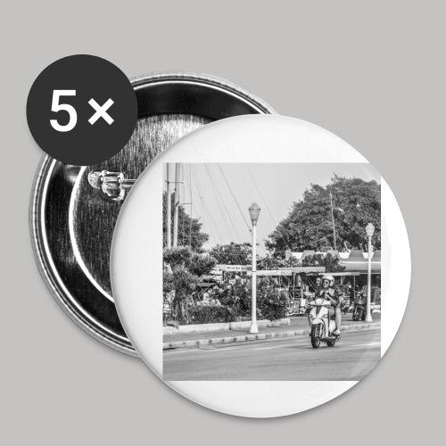 Happy Bike - Buttons klein 25 mm (5er Pack)