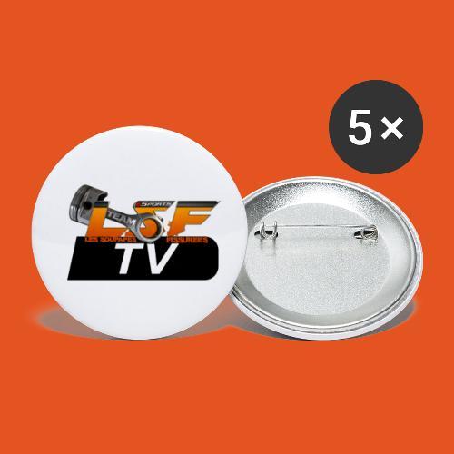 LSF TV - Lot de 5 petits badges (25 mm)