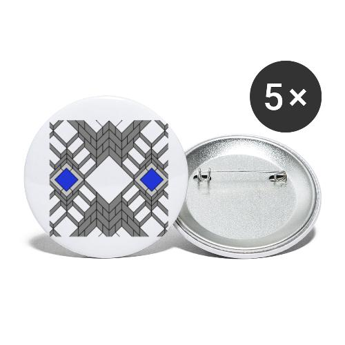art stairs kubik - Små knappar 25 mm (5-pack)