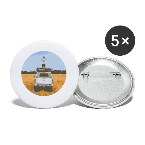Off road - Buttons klein 25 mm (5-pack)
